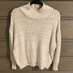 Cynthia Rowley Mock Neck Sweater Size L